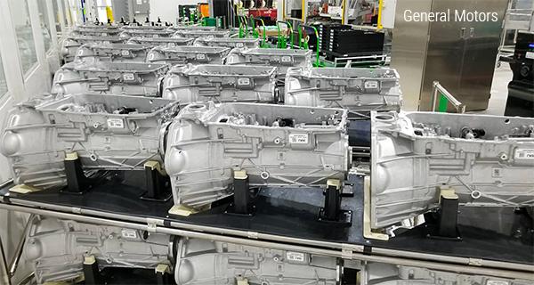 10-ступенчатые автоматических коробки передач GM