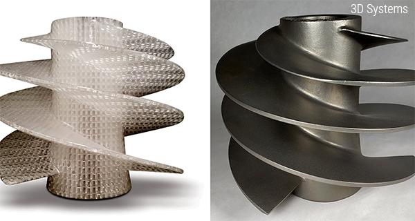 Модель и отливка 3D Systems