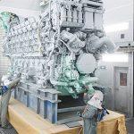 Rolls поставляет первый 16-цилиндровый судовой двигатель