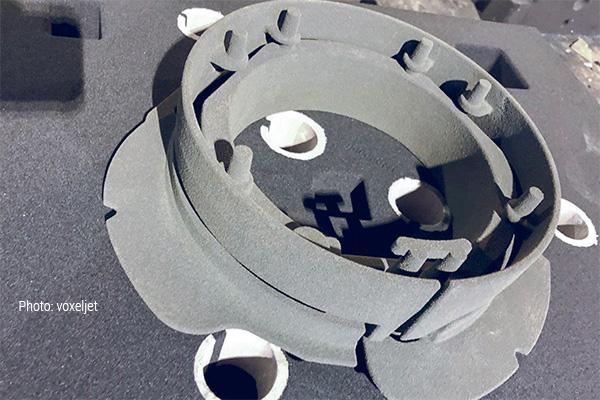 Стержни, напечатанные на 3D-принтере
